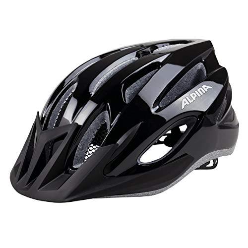 ALPINA MTB 17 Fahrradhelm, Black, 58-61 cm
