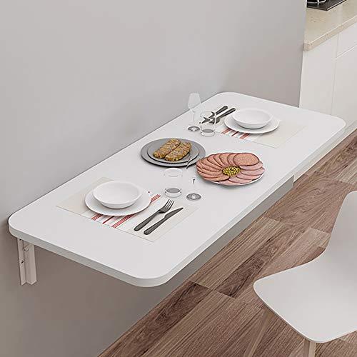 Warooma Klappbarer Computertisch Wand Multifunktionskleine Räume Klappbarer Kindertisch/Küchen- Und Esstisch Schreibtisch Platz Sparen