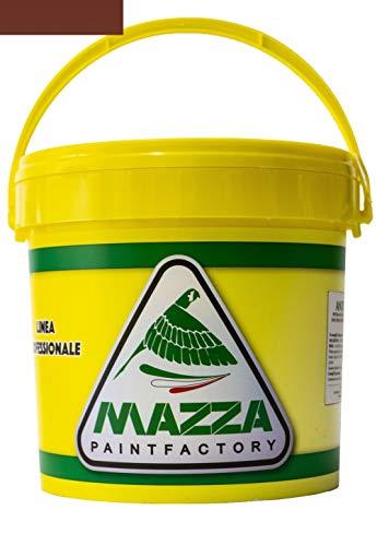 Guaina Liquida Impermeabilizzante Monocomponente Colorata Pedonabile All'Acqua Colorificio Mazza lt 14 (Grigio)