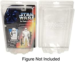 """Elite Collector Supplies Elite 10 Pack of Plastic Protector Cases for Most 3 3/4"""" Carded Star Wars & GI Joe Action Figures"""