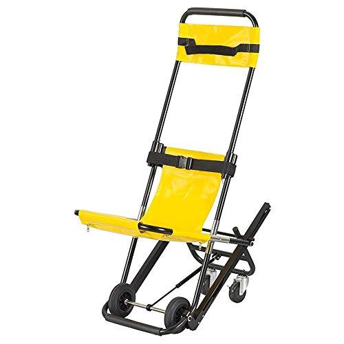 Transferhilfen Treppen-Schiebebrett Folding Stair Chair Ambulance Feuerwehrmann Evakuierung Medizinischer Aufzug Treppen Stuhl, Einzelperson Betrieb, Lager 400 kg