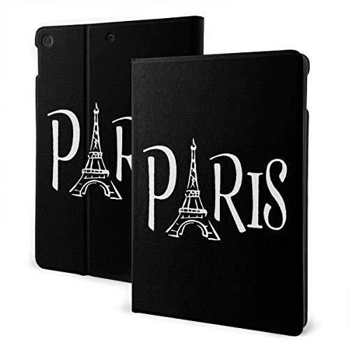liukaidsfs Paris Eiffel Tower Slim Lightweight Smart Shell Stand Cover Case for iPad Air3 & pro (10.5-Inch,Auto Wake/Sleep)