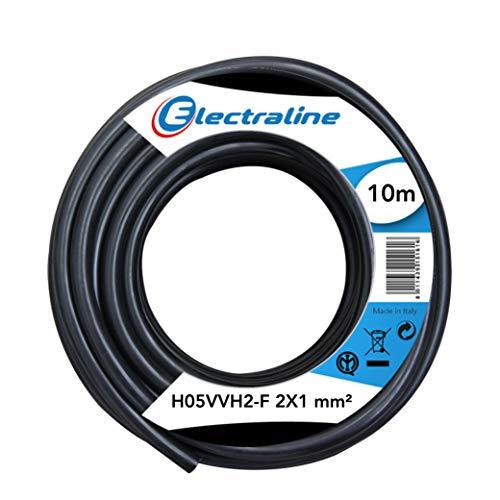 Cable 03Vh-H 20 Mt. electroline 10714 2x0.75 mm