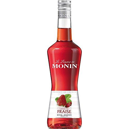Monin Creme de Fraise Erdbeer - Likör, 1er Pack (1 x 700 ml)