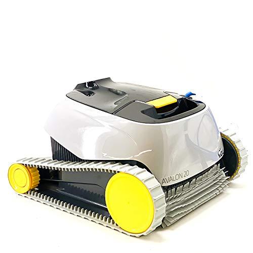 Maytronics Dolphin Avalon 20-Robot automático limpiafondos para Piscinas (Fondo y Paredes), Gris,...