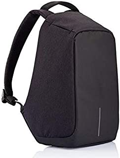 Anti Theft backpack with USB Charging Port shoulder bag for students business people,16ch,Black