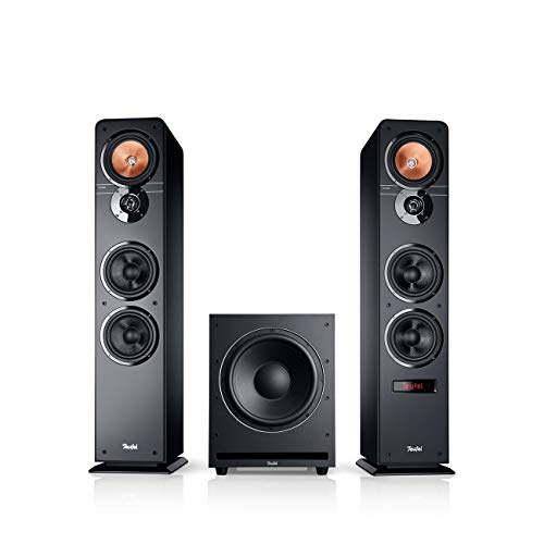 Teufel Ultima 40 Aktiv Club Edition Schwarz Standlautsprecher Subwoofer Bluetooth Musikstreaming
