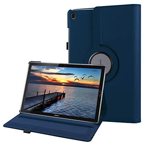 Fintie Hülle für Huawei Mediapad M5 10.8 / M5 10.8 Pro - Schlank 360 Grad Rotierend Stand Schutzhülle mit Auto Schlaf/Wach Funktion für 10.8 Zoll Huawei MediaPad M5 2018 Modell Tablet PC,Marineblau