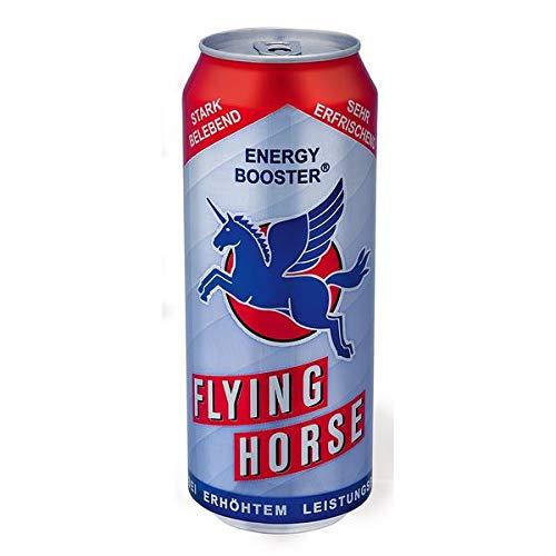 12 extra große Dosen Flying Horse Energy Drink a 500 ml in Dose inc. 3.00€ EINWEG Pfand