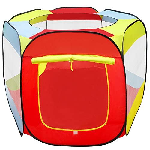 MAIKEHIGH Tenda da Gioco per Bambini, Tenda da Gioco per Bambini Tenda da Giardino Pieghevole da Piscina Bambini per Interni / Esterni(Senza Palle)