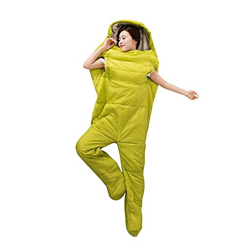 Lembrd Slaapzak met mouwen – outdoor camping slaapzak, mannen en vrouwen dikke warme slaapzak voor sport kamperen bergbeklimmen gebruik