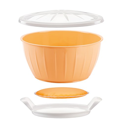 "Tescoma DoughRising Bowl with Warmer ""Delícia"" Assorted 26 cm"