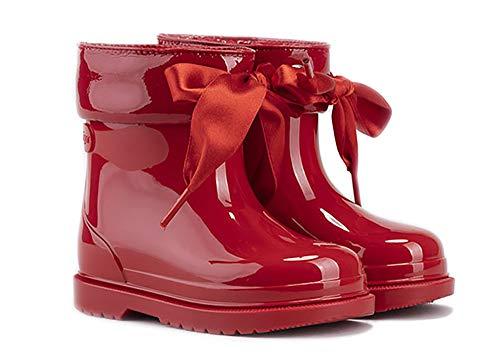 Igor Bimbi Lazo, stivali da acqua per bambina Rosso Size: 23 EU