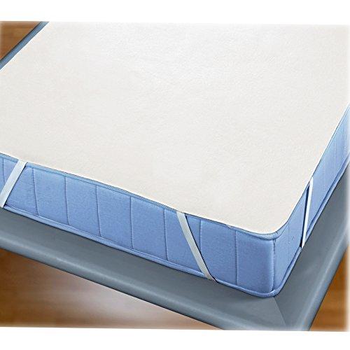 JEMIDI onderlegger voor matrassen beschermer matrasbeschermer overtrek hoes matrasbeschermer antislip matrasbeschermer matras onderlegger