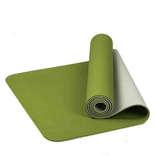 BECCYYLY Yoga Exercise Mat Exercise Gym Colchonete For Beginners| Yoga Mat|Yoga Matanti Slip Yoga Mat