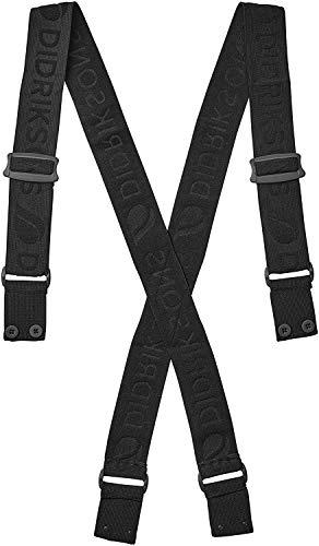 Didriksons Suspenders Schwarz, Accessoires, Größe L-XL - Farbe Black