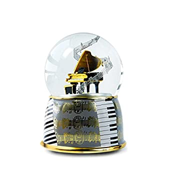 NON ROCK Water Globe for Musical Instruments,Music Box  Piano