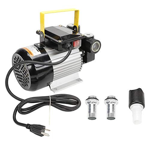 BLACKHORSE-RACING Self Priming 110v Ac 16GPM 60L/min Oil Transfer Pump Fuel Diesel Kerosene...