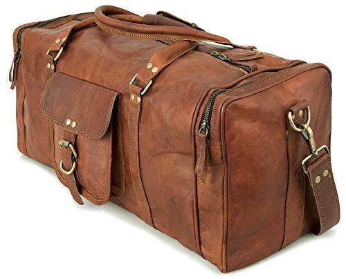 Berliner Bags Weekender New York L Reisetasche Sporttasche aus Le...