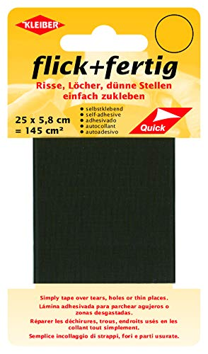 Kleiber - Cinta de reparación de nailon, autoadhesiva, de Flick Plus Fertig,  145 cm² (25 x 5.8 cm), color marrón