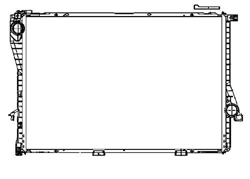 Preisvergleich Produktbild BEHR HELLA SERVICE 8MK 376 712-481 *** PREMIUM LINE *** Kühler,  Motorkühlung