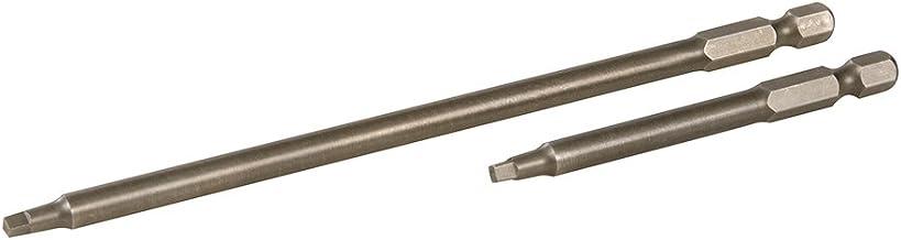 Triton 394952 vierkante schroevendraaierbits, 76 mm en 152 mm, 2-delig. Set, oranje, 3-6 inch