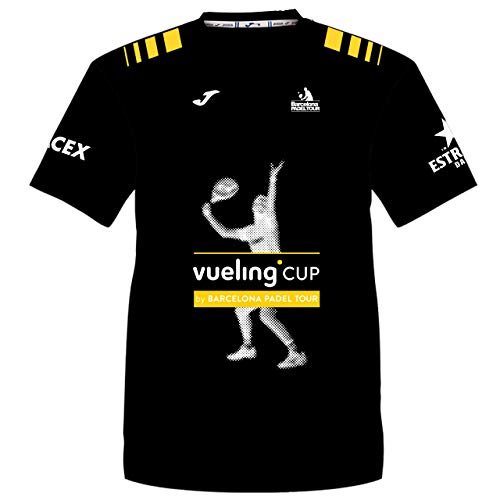 Camiseta Manga Corta Técnica Vueling Cup Hombre Negra L