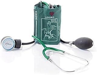 Sfigmomanometro Ad Aneroide Coordinato - con Fonendoscopio Verde