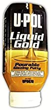 U-Pol Products 0670 LIQUID GOLD Glazing Putty Bottle - 615ml w/hardener