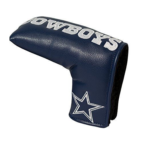 Team Golf NFL Dallas Cowboys Golf Club Vintage Blade Putter Headcover, Form Fitting Design, Fits Scotty Cameron, Taylormade, Odyssey, Titleist, Ping, Callaway