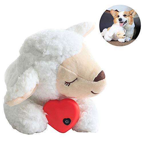 Kuscheltier Plüschtier Herzschlag Beruhigende Plüschpuppe Schlafender Hundespielzeug Plüschtier Bequemes Verhaltenstraining Spielzeug Waschbares Baby Schlafmittel Für Intelligente Hunde Katzen
