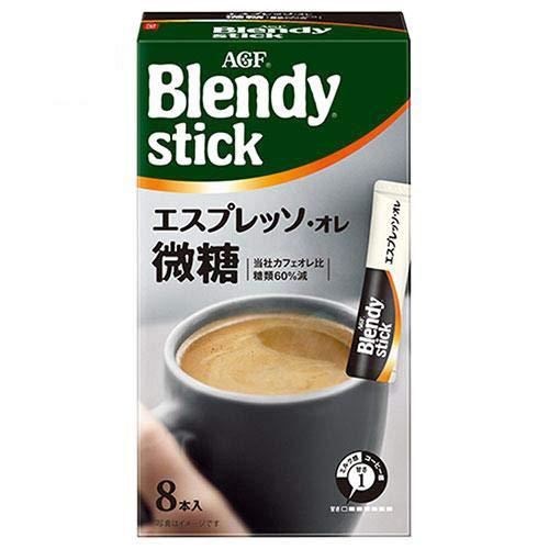 AGF ブレンディ スティック エスプレッソ・オレ微糖 (6.7g×8本)×24箱入×(2ケース)