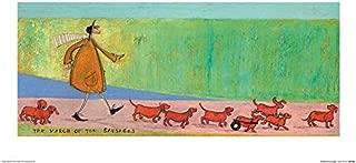 Sam Toft Art Prints, Multi-Colour, 30 x 60cm