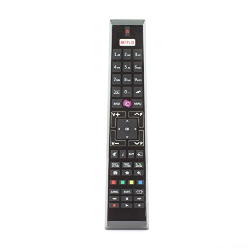Medion Telefunken Finlux 30092062 RCA4995 Remote Control for LCD LED 3D HD Smart TV'S with Netflix Button - With Two 121AV AAA Batteries Included