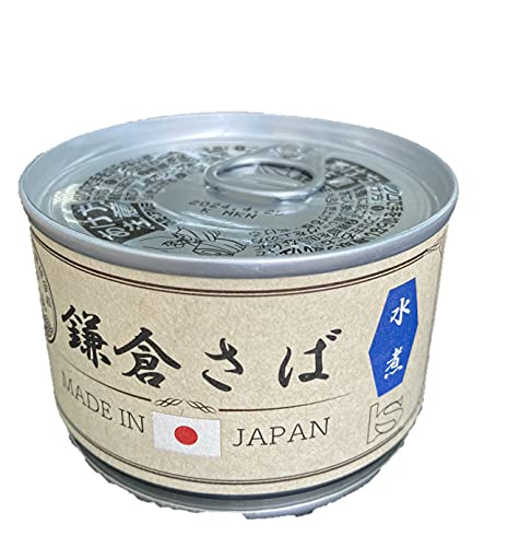 湘南 鎌倉さば缶 水煮 150g/缶  缶詰 湘南 鎌倉 さば 青魚 (さば缶150g×24)