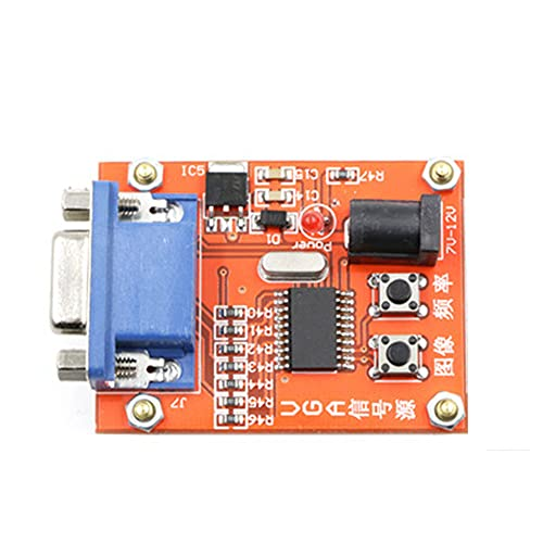 1PC VGA Signal Generator LCD Display Tester DC 7V-12V Power Input Signal Source Tester 15 Pin VGA Interface
