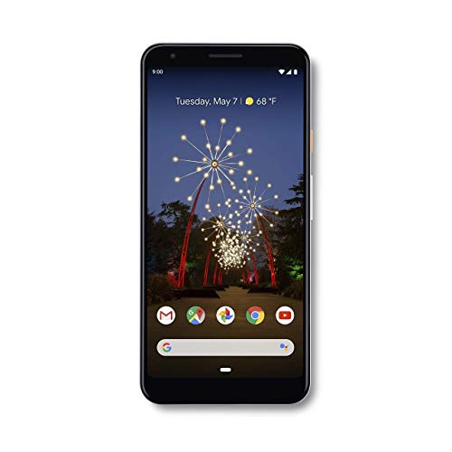 Google Pixel 3a Xl With 64gb Memory Cell Phone Unlocked Clearly White