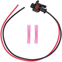 XtremeAmazing Engine Coolant Oil Temperature Sensor Connector Pigtail Compatible with Ford 6.0L 6.4L Powerstroke 2003-2010