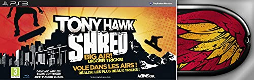 NEW! Tony Hawk Shred Wireless Skateboard Controller Game Sony Playstation 3 PS3