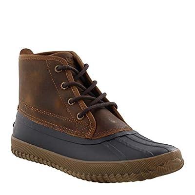 Sperry Men's, Breakwater Duck Boot Brown Navy 13 M