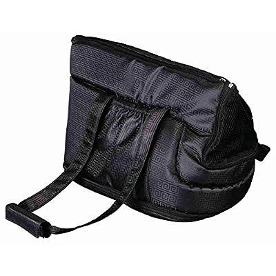 Trixie 36211 'Riva' Bag Pet Carrier Nylon 26 x 30 x 45 cm, Black