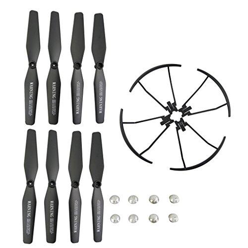 4pcs Propeller 4pcs Cw Ccw Zubehör Set für VISUO XS809 XS809HC XS809HW