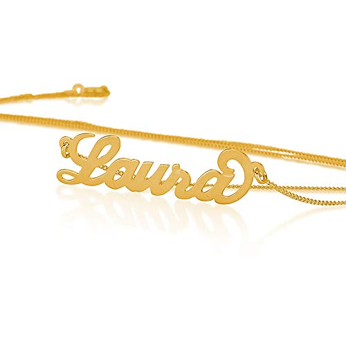 10k Gold Personalized Name Necklace