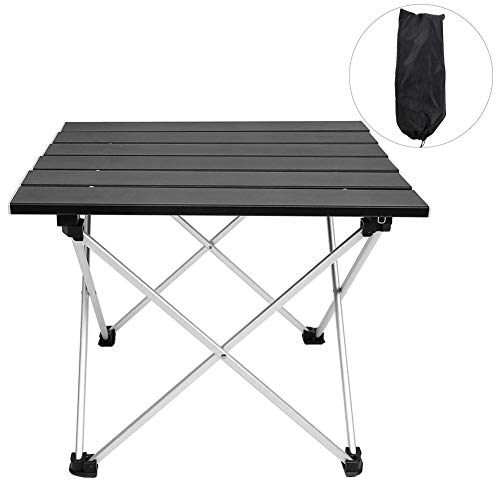 Amazing Deal Compact Table,Aluminium Alloy Portable Folding Table BBQ Camping Table Desks for Outdoor Picnic Portable Camping Side Tables Folding Square Table