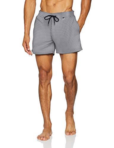 Hom Greenwich Beach Boxer Costume da Bagno, Grigio (White/Grey Pw11), Medium Uomo