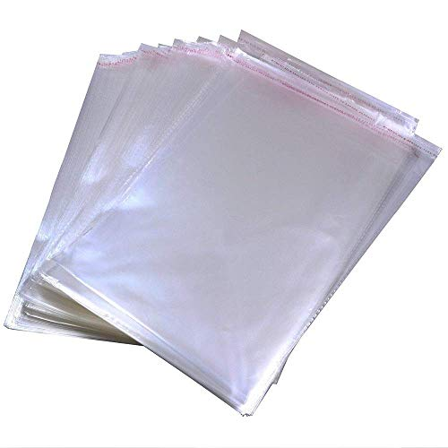 Cello Display Bags Crystal Clear Self Seal Cellophane Bags For powder pill
