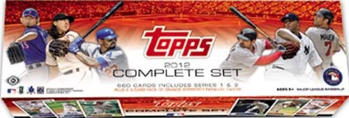 2012 Topps Baseball Factory Sealed Now on sale HOBBY 5 OFFicial site Version Set Bonu with