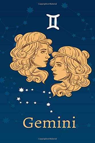 Gemini: Zodiac Astrology Design Journal 6x9 (Astrology Notebook & Zodiac Gifts)