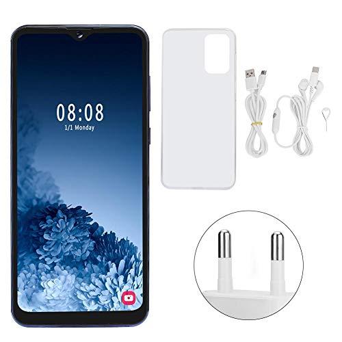 Jopwkuin Téléphone Portable déverrouillé élégant de 6,7 Pouces, Quad-Core, Dual SIM, 2800 mAh, 2+16G, pour Android 9.1, Smartphone Robuste avec capteur G pour Les employés de Bureau(EU-Plug)