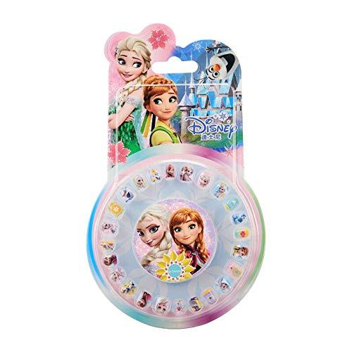 PMSMT Pegatinas de uñas de Juguete de My Little Pony genuinas, Pegatina Impermeable de Unicornio, Pegatina de Tatuaje de Dibujos Animados de Anna Elsa Sofia, Conjunto de Maquillaje de Caballo
